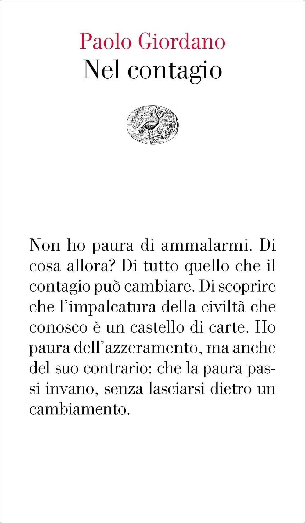 Nel contagio <br> Paolo Giordano