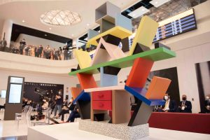 Il design italiano viaggia a Linate